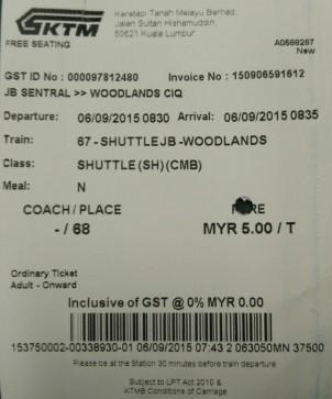 SS JB - Woodland Singapore